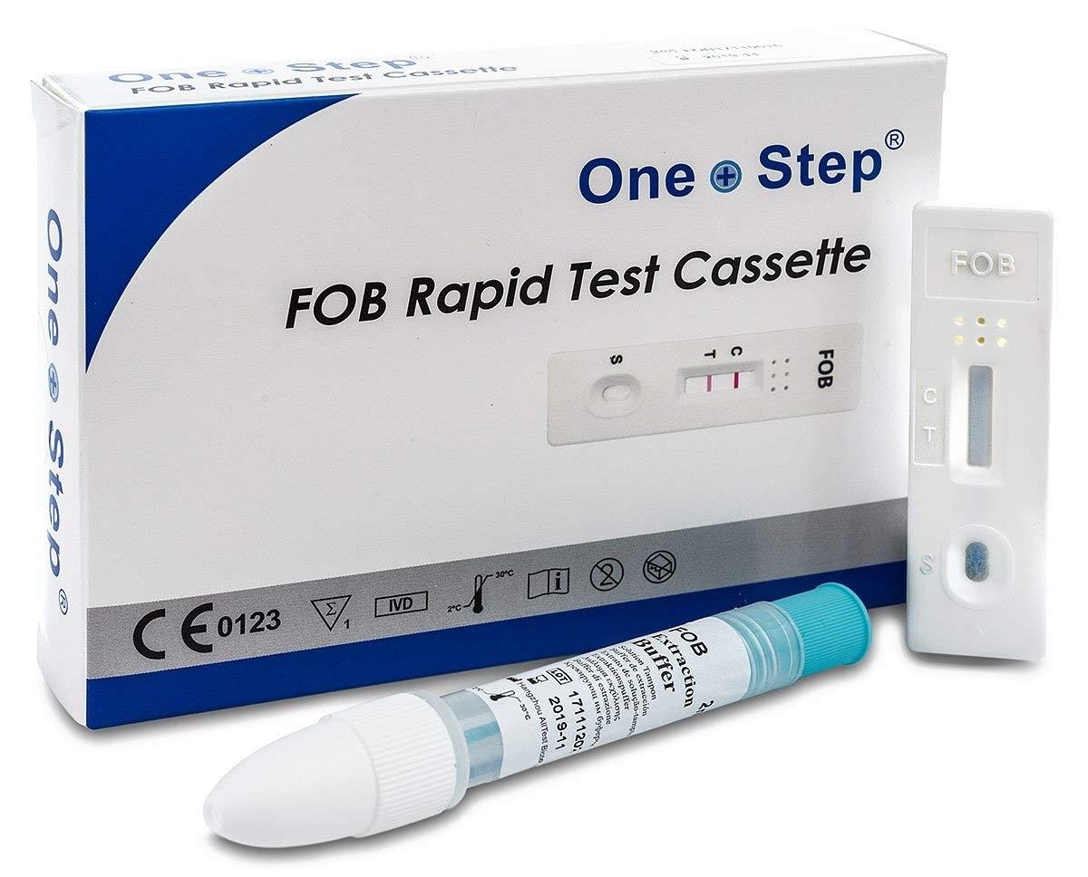 One+Step Darmkrebsvorsorge Test - Komplettes Testset zur Früherkennung