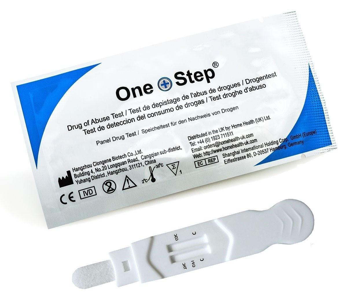 Drogentest Speichel Multi 3 Teststab, 2 Stück - THC (Marihuana), Kokain, Opiate