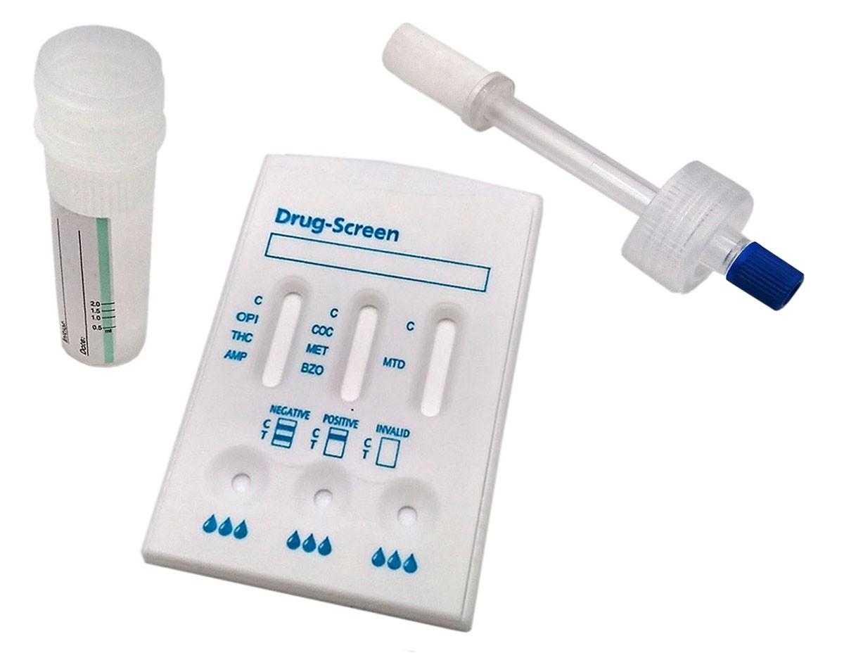 Drogentest Multi 7 Speicheltest, 1 Stk.