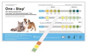 Gesundheitstest für Katzen und Hunde - Nieren-Check, 2 Stück