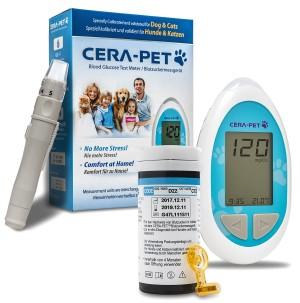 Cera-Pet Blutzuckermessgerät für Hunde und Katzen