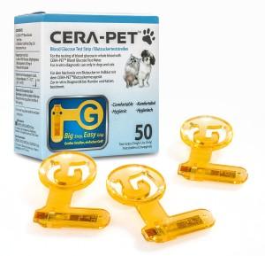 Cera-Pet Blutzuckerteststreifen